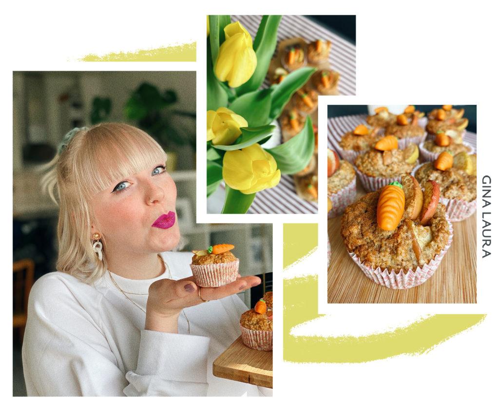Vegane Muffins - Rezeptidee von Lisa