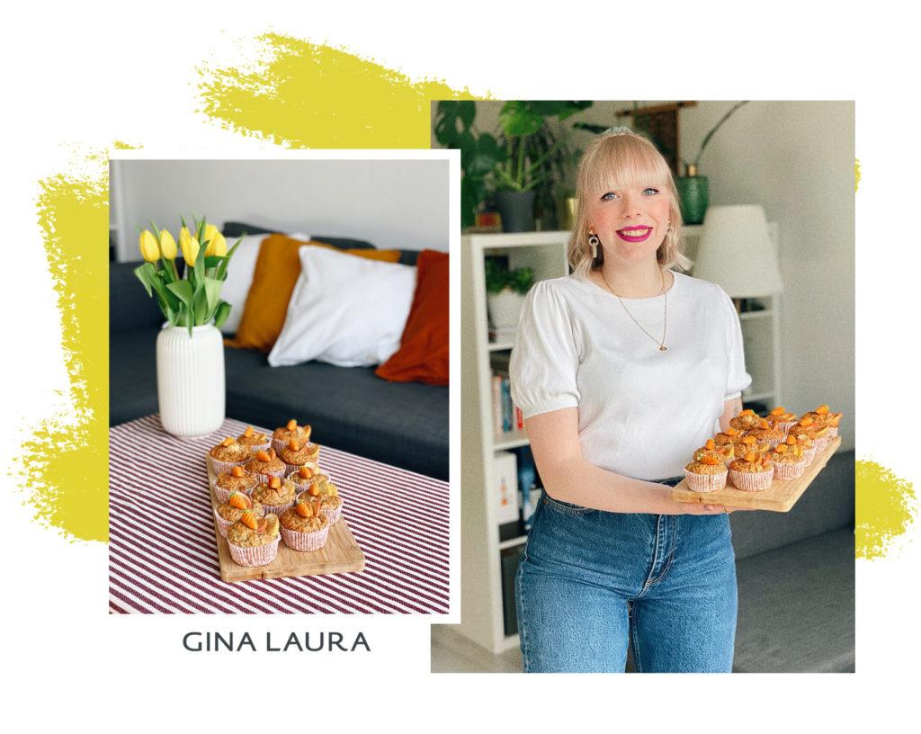 Lisa stellt ihre Rezeptidee für vegane Muffins vor
